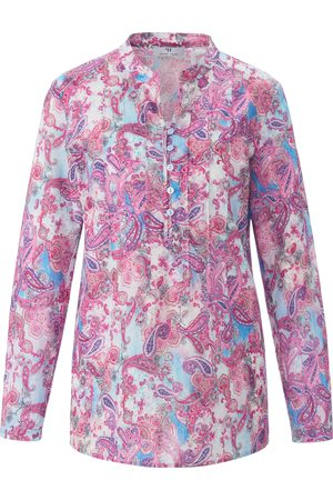 mayfair by Peter Hahn Pull-on style tunic in 100% cotton multicoloured size: 10