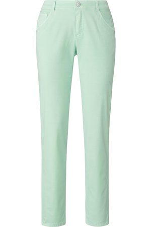 DAY.LIKE Women Trousers - Trousers in 5-pocket style turquoise size: 10s