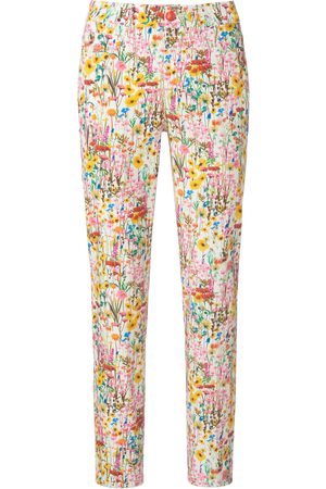Peter Hahn Women Trousers - Ankle-length trousers Sylvia fit multicoloured size: 10s