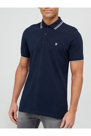 Very Man Tipped Pique Polo