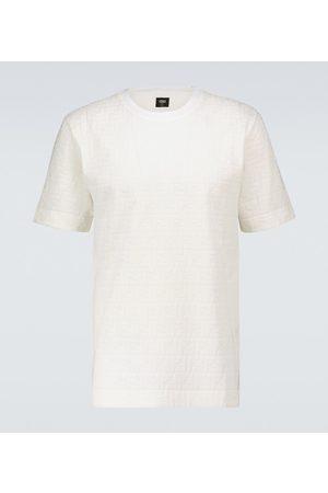 Fendi FF short-sleeved cotton T-shirt