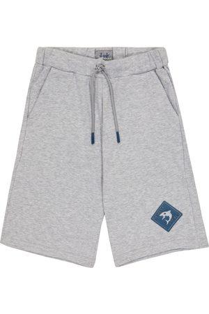 Il gufo Cotton jersey sweat shorts