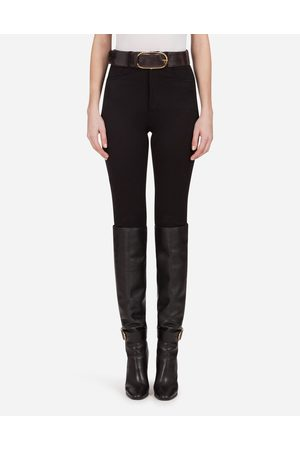 Dolce & Gabbana Women Trousers - Trousers and Shorts - 5-POCKET STRETCH CAVALRY TWILL LEGGINGS female 40
