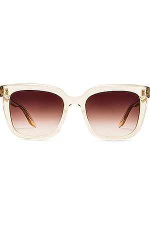 Barton Perreira Women Sunglasses - Bolsha Sunglasses in Champagne & Smokey Topaz