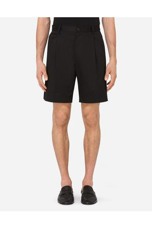 Dolce & Gabbana Men Trousers - Trousers and Shorts - STRETCH COTTON SHORTS male 44