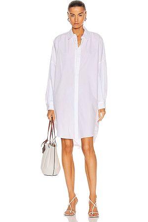BASSIKE Cotton Circle Shirt Dress in