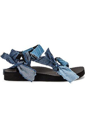 Arizona Love Trekky Fabric Sandal in Denim