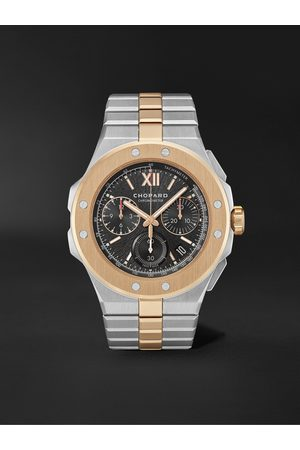 Chopard Alpine Eagle XL Chrono Automatic 44mm Lucent Steel and 18-Karat Rose Gold Watch, Ref. No. 298609-6001