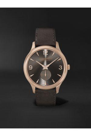 Chopard Men Watches - L.U.C XPS Automatic 40mm 18-Karat Rose Gold and Nubuck Watch, Ref. No. 161948-5003