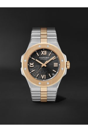 Chopard Men Watches - Alpine Eagle Large Automatic 41mm Lucent Steel and 18-Karat Rose Gold Watch, Ref. No. 298600-6001