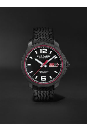 Chopard Men Watches - Mille Miglia GTS Speedblack Automatic Speed Limited Edition 43mm DLC-Coated Stainless Steel and Rubber Watch, Ref. No. 168565-3002