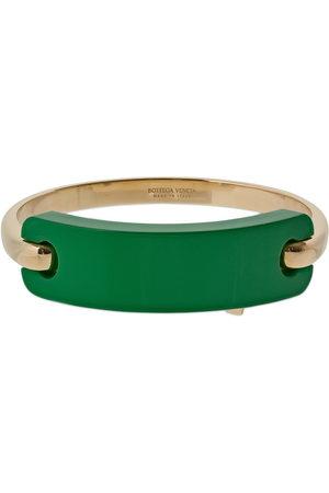 Bottega Veneta Tag Braided Double Wrap Bracelet