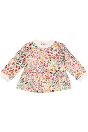 BONPOINT Baby floral cotton sweatshirt