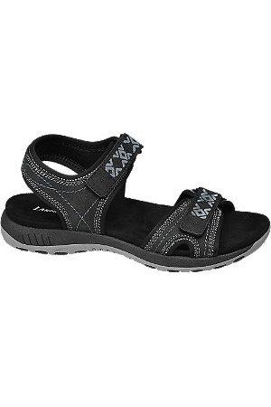 Landrover Women Sandals - Black Sporty Walking Sandals