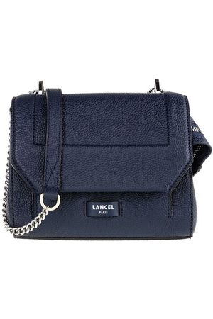 LANCEL Crossbody Bags - Ninon Grained Leather Flap Bag Small - - Crossbody Bags for ladies