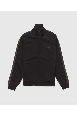 Fred Perry Men's Contrast Tape Track Top