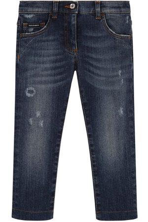 Dolce & Gabbana Kids Pocket-Detail Slim Jeans (8-12 Years)