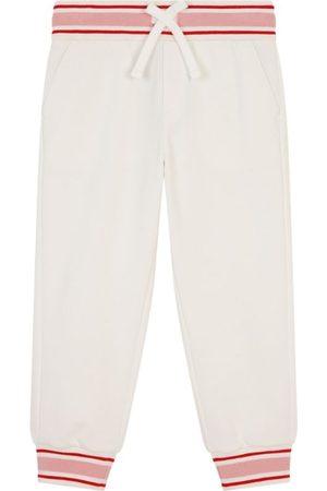 Dolce & Gabbana Kids Cotton Logo-Pocket Sweatpants (8-12 Years)