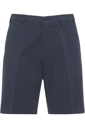 Loro Piana Cotton Sport Berm Deck Shorts