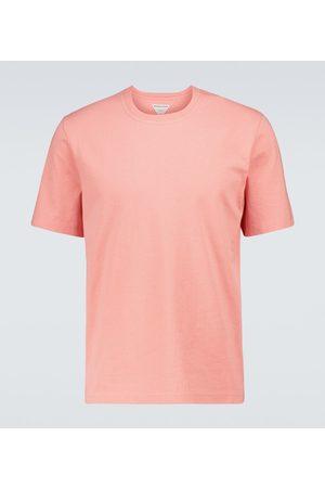 Bottega Veneta Men Short Sleeve - Crewneck cotton T-shirt