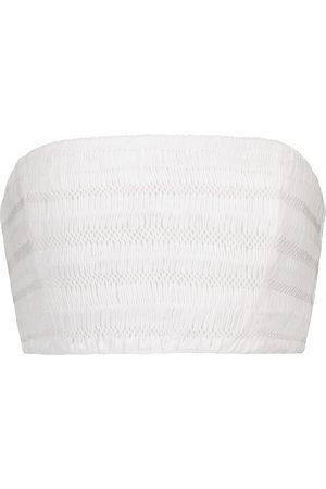 SIR Women Bras - Cecil smocked cotton bustier