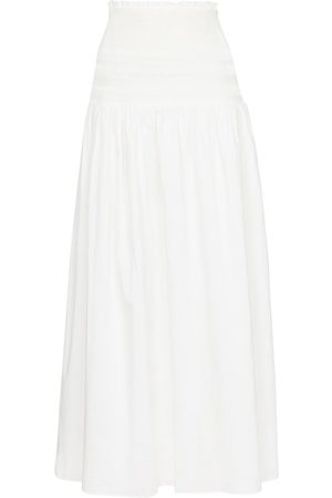 SIR Cecil smocked cotton maxi skirt