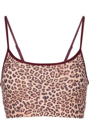 The Upside Natacha leopard-print sports bra