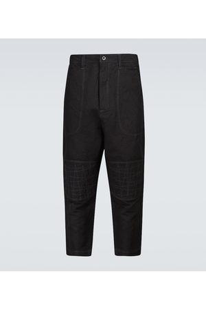 JUNYA WATANABE Dyed linen-blend pants