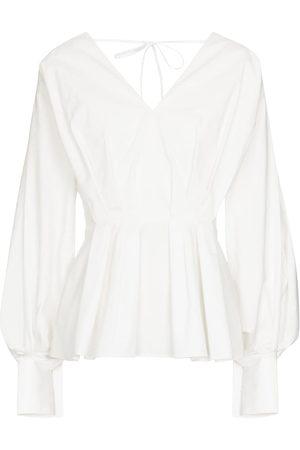 Roksanda Colette peplum cotton blouse