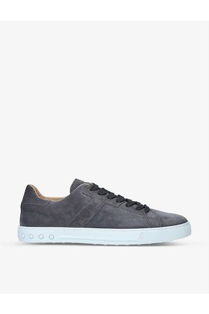 Tod's Mens New Mod Sport Suede Low-top Trainers EUR 40 / 6 UK MEN
