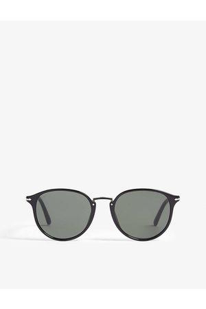 Persol Mens Po3210s Oval-frame Sunglasses