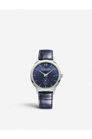 Chopard Mens 161946-9001 L.U.C. EPS Platinum and Leather Watch