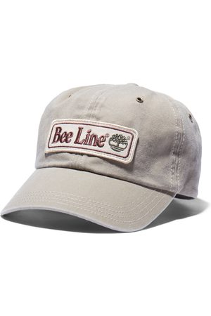 Timberland Bee line x baseball cap for men in grey khaki, size one