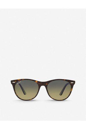 Ray-Ban Mens RB2185 55 Wayfarer Classic II Acetate Phantos-frame Sunglasses