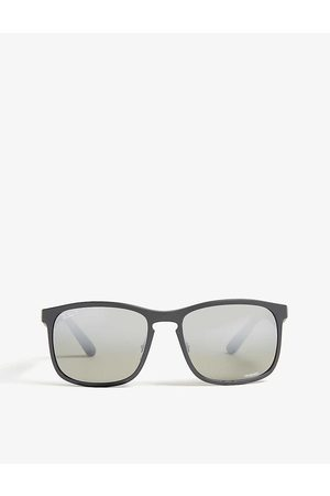 Ray-Ban Mens RB4264 Chromance Square-frame Sunglasses