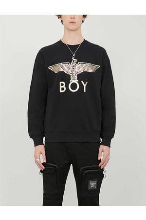 Boy London Mens / Graphic-print Cotton-jersey Sweatshirt S