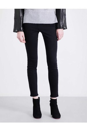 Frame Ladies Leather Le High Skinny High-Rise Jeans