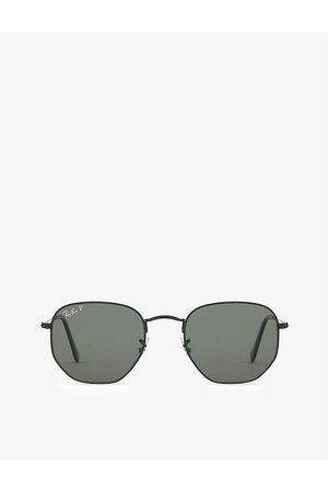 Ray-Ban Mens Rb3548N Hexagonal Sunglasses