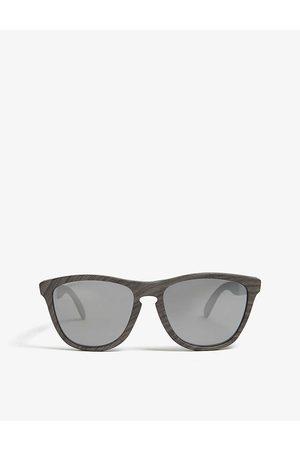 Oakley Mens Frogskins Mix Square-frame Prizm Polarised Sunglasses