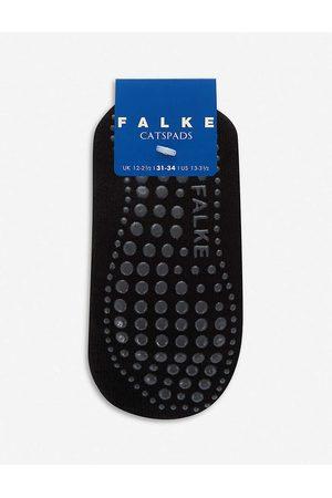 Falke Girls Kids Catspads Stretch Cotton-blend Slipper Socks Years 3+ 23-26
