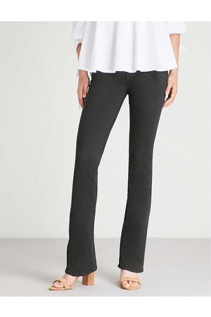 7 for all Mankind Womens Bair Bootcut Mid-rise Jeans 24
