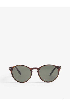 Persol Mens PO3092 Phantos-frame Havana Sunglasses