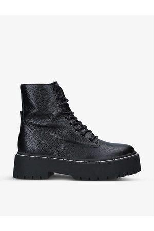 Steve Madden Womens Skylar Lace-up Leather Boots EUR 36 / 3 UK Women