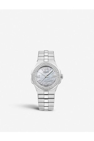 Chopard Mens S Steel/ 298601-3002 Alpine Eagle Automatic Lucent Steel A223 and Diamond Watch