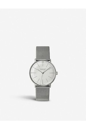 Junghans Women Watches - 047/4250.44 Max Bill stainless steel watch