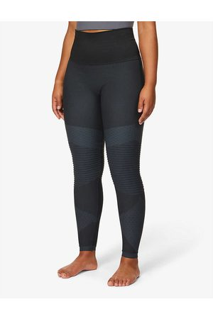 Spanx Womens Very Look At Me Moto High-rise Stretch-woven Leggings XS