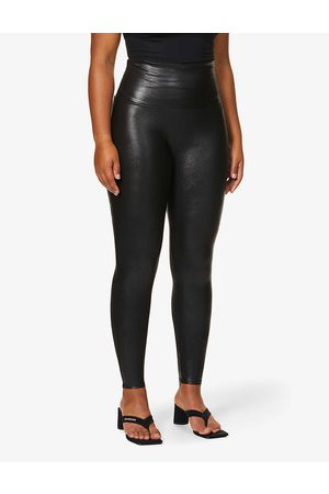 Spanx Women's High-Rise Faux-Leather Leggings