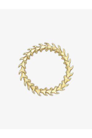SHAUN LEANE Womens Vermeil Serpent Trace -vermeil Bracelet L