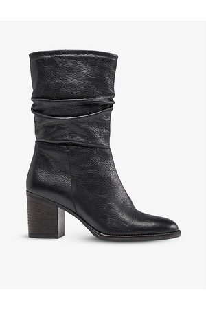 Dune Womens -leather Rosa Leather Boots EUR 40 / 7 UK Women
