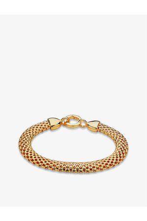 Monica Vinader Doina 18ct vermeil sterling silver bracelet